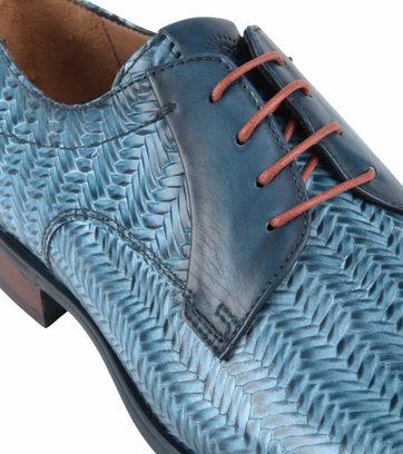 Giorgio Spina Leather Shoe Blue