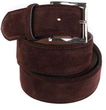 Giorgio Suede Belt Brown
