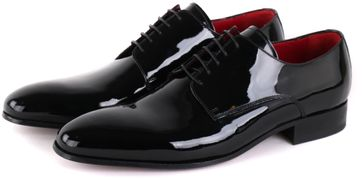 Giorgio Vernice Lace-up Shoe Black