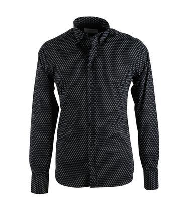 Hamaki-Ho Overhemd Print Zwart