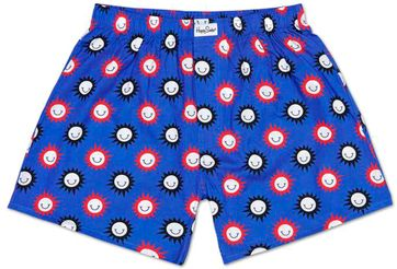 Happy Socks Boxershort Smile Blau