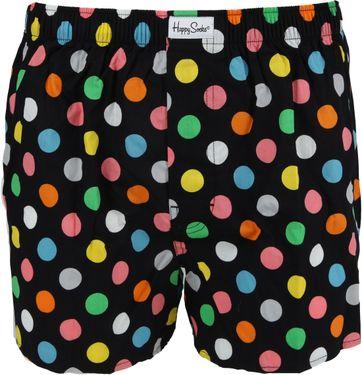 Happy Socks Boxershort Stippen Zwart