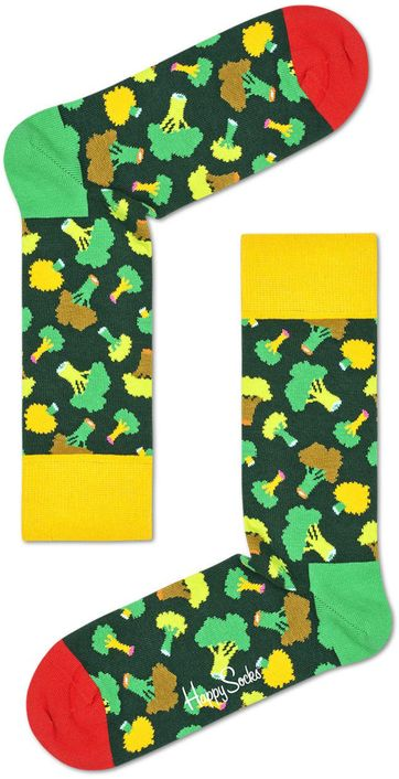Happy Socks Brokkoli Grun