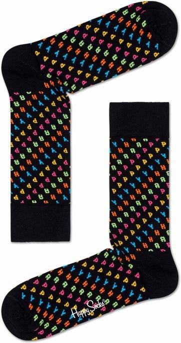 Happy Socks Buchstaben