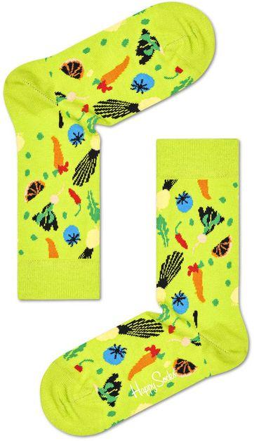 Happy Socks Gemüse Grun