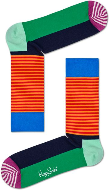 Happy Socks Halbe Streif
