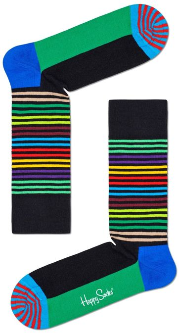 Happy Socks Half Stripe Multicolour