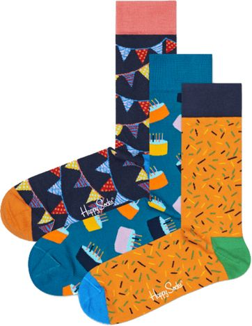 Happy Socks Happy Verjaardags Giftbox