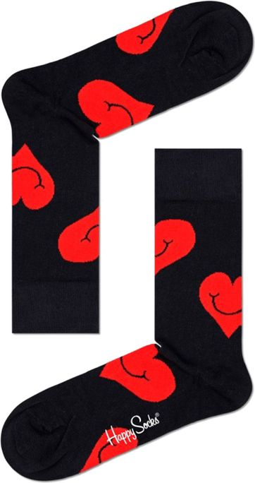 Happy Socks Jumbo Smiley Hart
