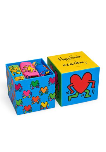 Happy Socks Keith Haring Gift Box XKEH08-4000