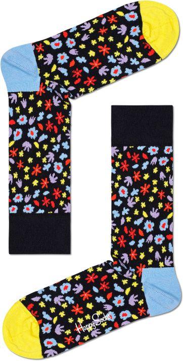Happy Socks Mini Flowers Multicolour