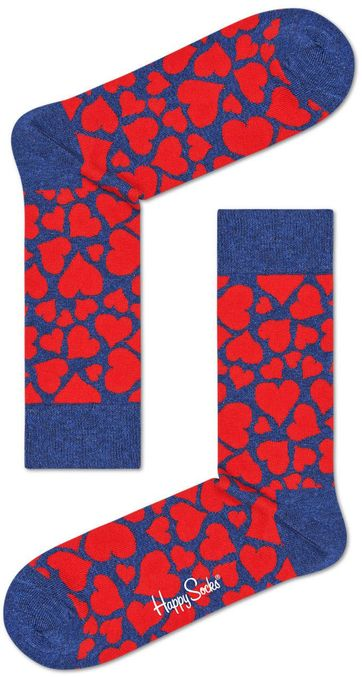 Happy Socks Red Heart