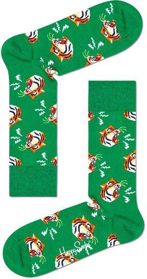 Happy Socks Tijger Groen