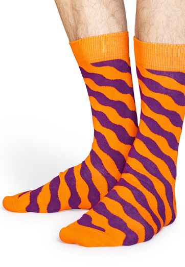 Detail Happy Socks Wavy Polka WPO01-2000
