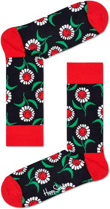 Happy Socks Zonnebloem Rood