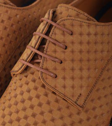 Detail Herenschoen Bruin 3D Dessin