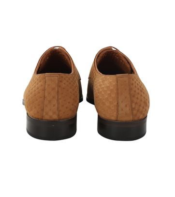 Brun Chaussure Hommes 3d Appropriés De Dessin Zoc88Ve7