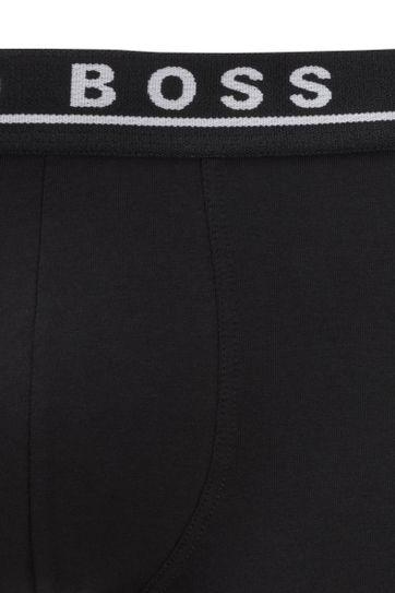 Hugo Boss Boxershorts Brief 3-Pack Zwart