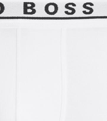 Hugo Boss Boxershorts Trunk 3-Pack Wit