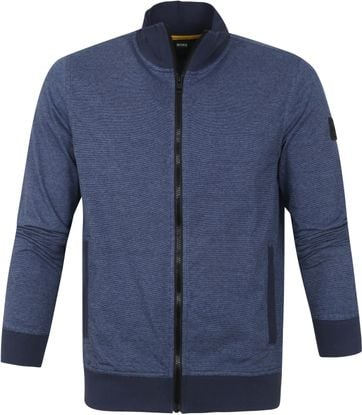 Hugo Boss Cardigan Zeshark Dark Blue