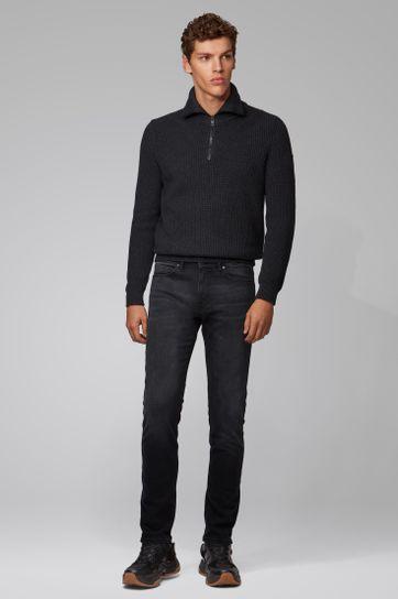 Hugo Boss Delaware Jeans Zwart
