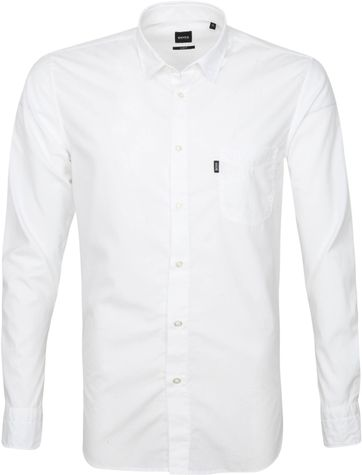 Hugo Boss Hemd Magneton Weiß