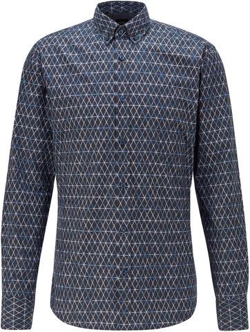 Hugo Boss Overhemd Mabsoot Donkerblauw