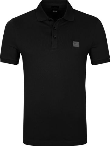 Hugo Boss Polo Passenger Zwart