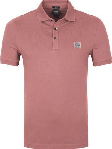 Hugo Boss Polo Shirt Passenger Alt Pink