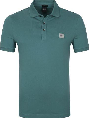 Hugo Boss Polo Shirt Passenger Dunkelgrün