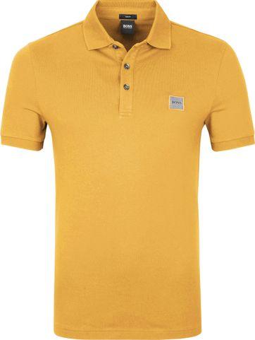 Hugo Boss Polo Shirt Passenger Gelb