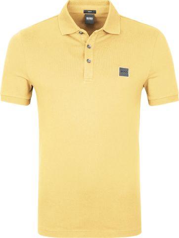 Hugo Boss Polo Shirt Passenger Hellgelb
