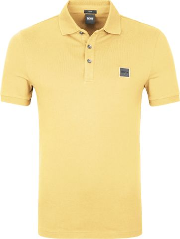Hugo Boss Polo Shirt Passenger Light Yellow