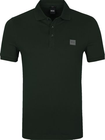 Hugo Boss Polo Shirt Passenger Open Grun