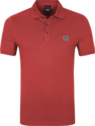 Hugo Boss Polo Shirt Passenger Red