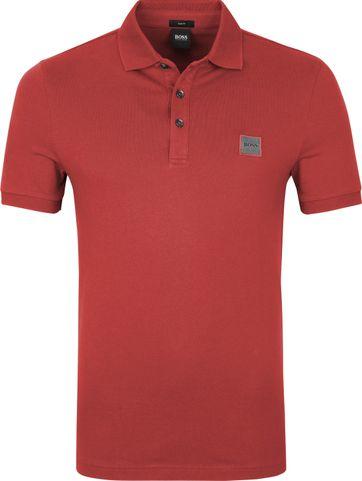 Hugo Boss Polo Shirt Passenger Rot