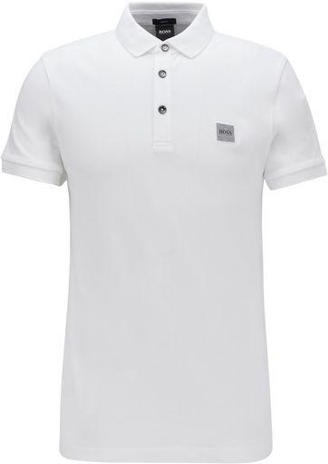 Hugo Boss Polo Shirt Passenger Weis