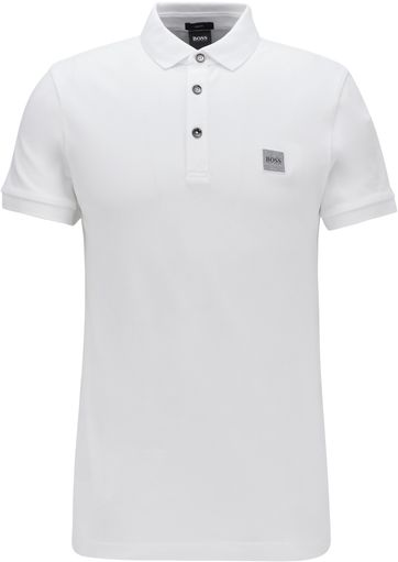 Hugo Boss Polo Shirt Passenger White