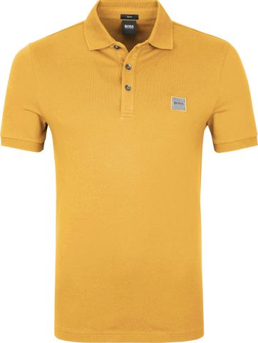 Hugo Boss Polo Shirt Passenger Yellow