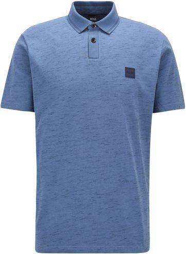 Hugo Boss Polo Shirt Pemew Blau
