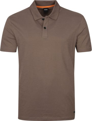 Hugo Boss Polo Shirt Pikedo Khaki