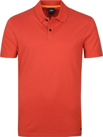 Hugo Boss Polo Shirt Pikedo Rot