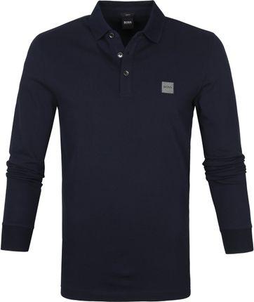 Hugo Boss Poloshirt LS Passerby Dunkelblau