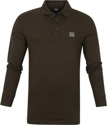 Hugo Boss Poloshirt LS Passerby Dunkelgrün