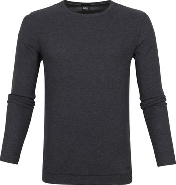 Hugo Boss Pull Tempest Dark Grey