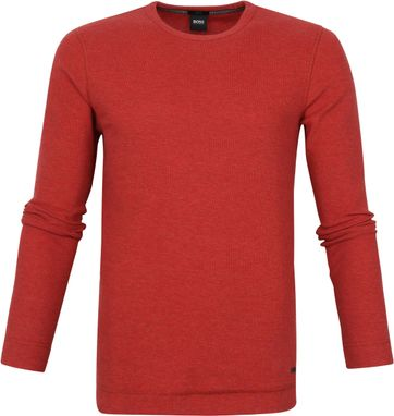 Hugo Boss Pull Tempest Red