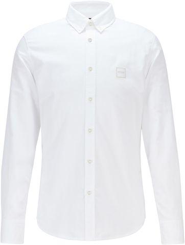 Hugo Boss Shirt Mabsoot White