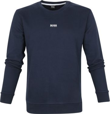 Hugo Boss Sweater Weevo Dark Blue