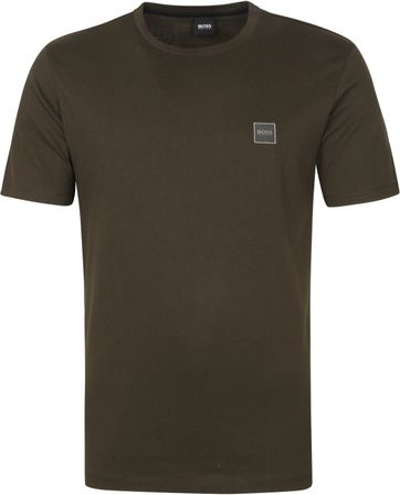 Hugo Boss T Shirt Tales Dark Green
