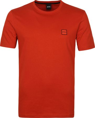 Hugo Boss T-shirt Tales Rood